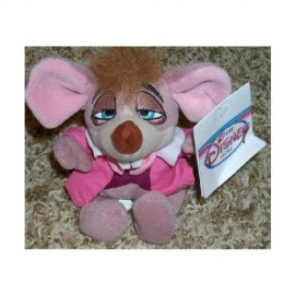 Rare-Disney-Alice-in-Wonderland-Dormouse-7-Plush-Bean-Bag-Doll-Mint-0