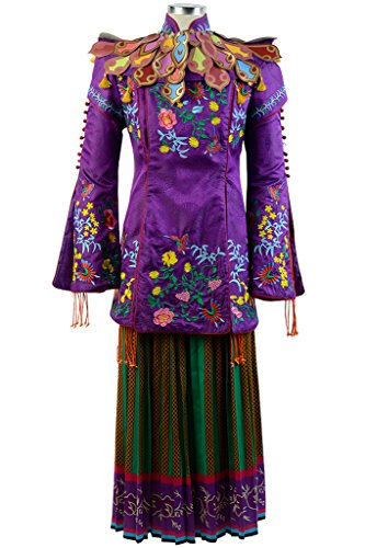 Sidnor Alice Through The Looking Glass Mandarin Cosplay Costume Outfit