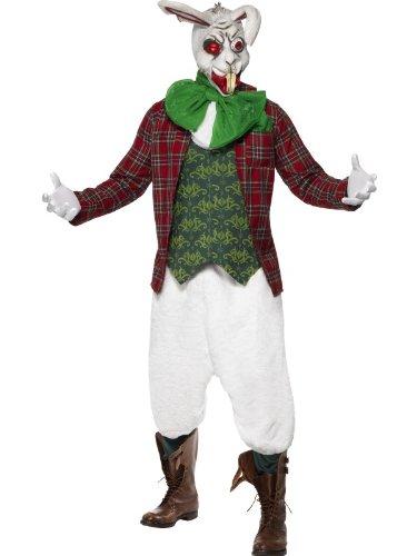 Smiffys Menu0027s Rabid Rabbit Costume  sc 1 st  Alice in Wonderland.net & Smiffys Menu0027s Rabid Rabbit Costume - Alice-in-Wonderland.net shop