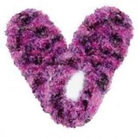Style-Travel-60025-Fuzzy-Footies-Ladies-Dark-Purple-Pink-Purple-0