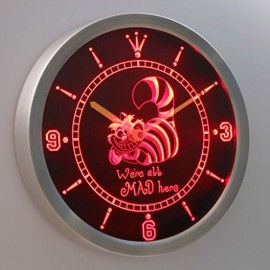 The-Cheshire-Cat-Alice-in-Wonderland-3D-Neon-Sign-LED-Wall-Clock-NC0234-R-0