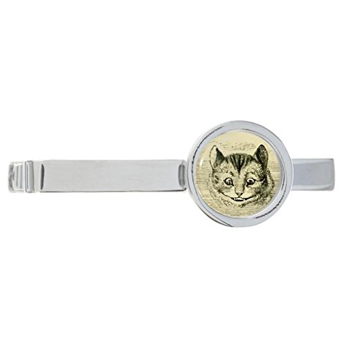 Vintage-Style-Cheshire-Cat-Metal-Tie-Slide-in-Gift-Box-0