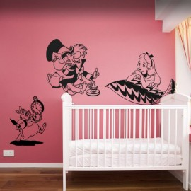 Wall Decal Vinyl Sticker Bedroom Fashion M Alicein - Wall decals art
