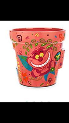 Walt-Disney-Alice-In-Wonderland-Cheshire-Cat-Flower-Pot-Garden-0