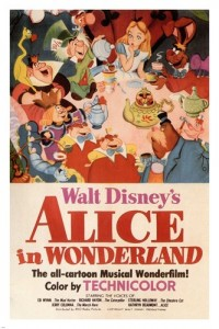 Disney's 1951 cartoon movie poster