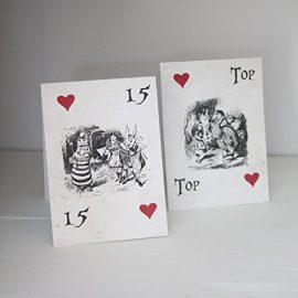 White-Wedding-Table-Numbers-Alice-In-Wonderland-Tent-Fold-Rustic-Wedding-0