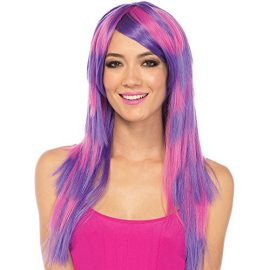 Wig-Long-Striped-Cheshire-Cat-PinkPurple-One-Size-0