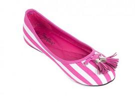 Women-Striped-Canvas-Ballerina-Flats-with-Tassels-10-Pink-0
