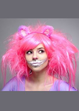 Womens-Deluxe-Neon-Pink-Cheshire-Cat-Style-Wig-0
