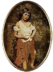Photograph of Alice Liddell as a beggar girl