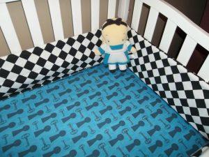 Home made crib sheets