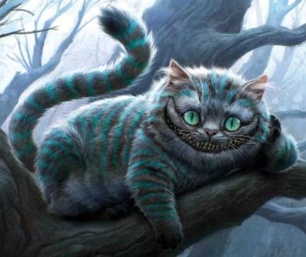 Cheshire Cat by Tim Burton