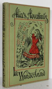 Cover of the People's Edition of Alice's Adventures in Wonderland