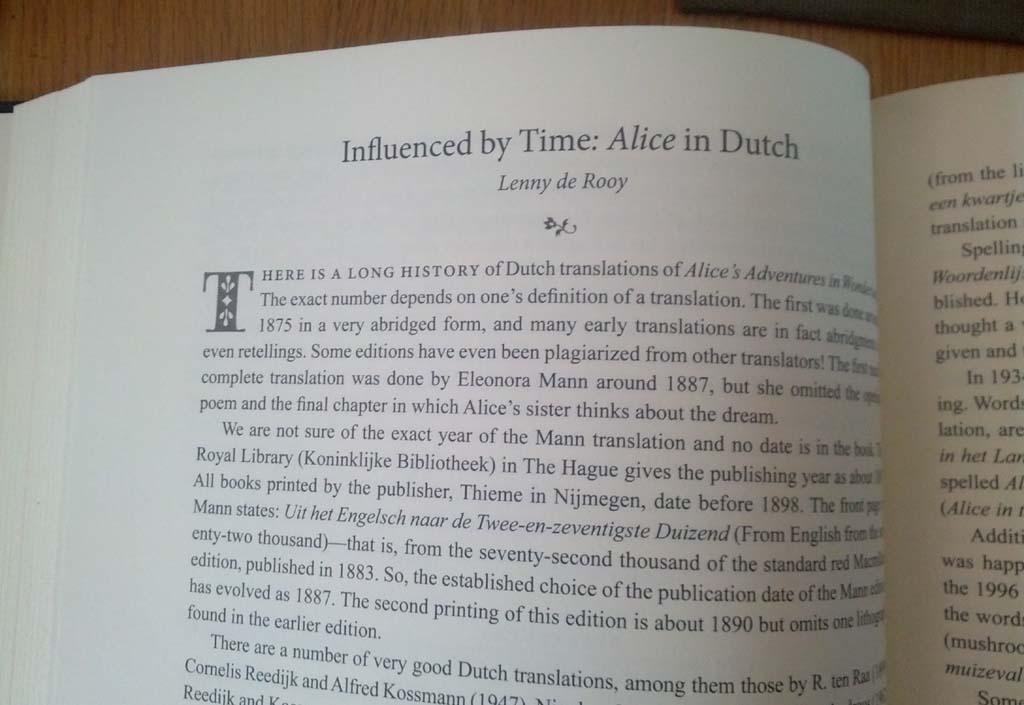 alice in wonderland identity essays
