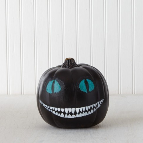 from: http://www.marthastewart.com/1085147/pumpkin-decorating-cheshire-cat-alice-wonderland