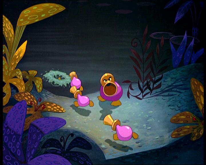 Trumpet ducks