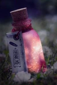 glowing-drink-me-bottle