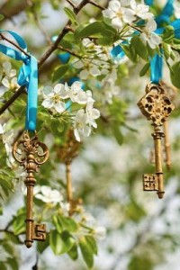 golden-key-ornaments