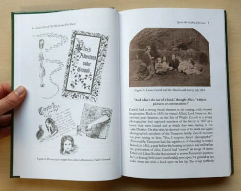 "Page with pictures from ""Lewis Carroll - The Worlds of His Alices"""