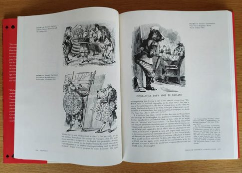"Page from Michael Hancher's ""The Tenniel illustrations to the 'Alice' books"""