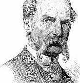 Drawing of Sir John Tenniel