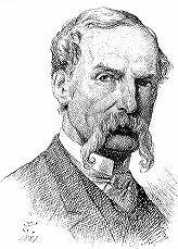 Drawing of Sir John Tenniel