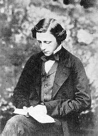 Charles Ludwidge Dodgson (Lewis Carroll) reading
