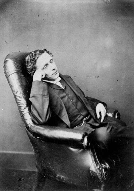 Charles Ludwidge Dodgson (Lewis Carroll), 25 years old, taken in 1857, taken in 1857
