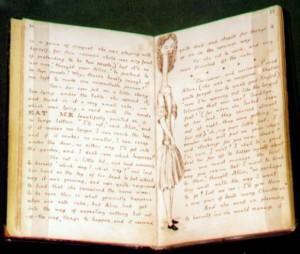 photo of the original manuscript