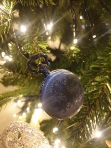 Pocket watch tree ornament
