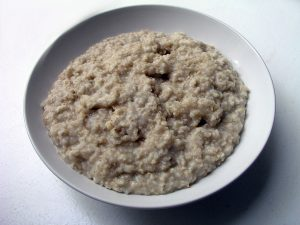 bowl of oatmeal-porridge