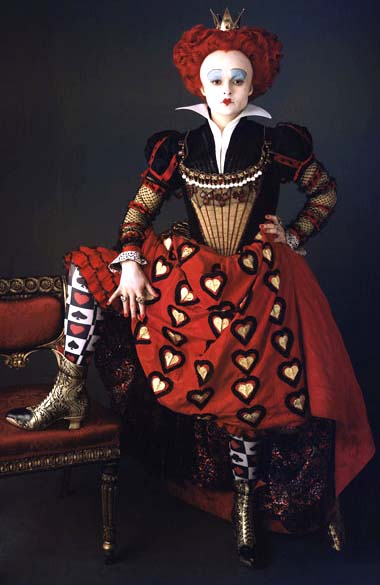 Alice in wonderland costume ideas alice in wonderland queen of hearts by tim burton solutioingenieria Choice Image