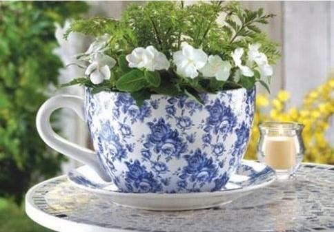 tea-cup-planter