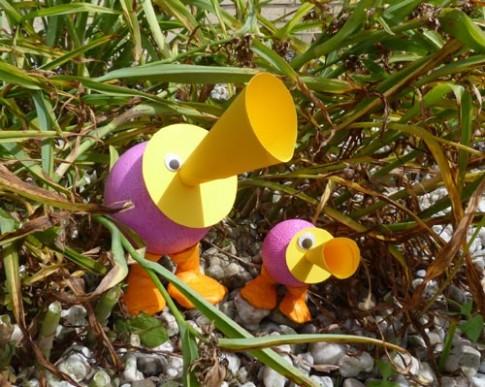 trumpet-ducks
