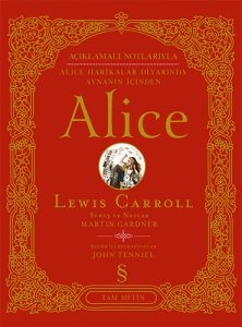 "Cover of the Turkish translation of ""The Annotated Alice"""