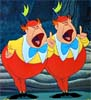 Tweedledum & Tweedledee by Disney