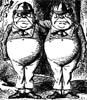 Tweedledum & Tweedledee by John Tenniel
