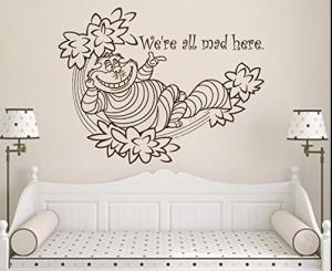 Cheshire Cat wall sticker