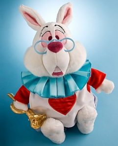 White Rabbit plush doll