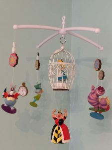 Wonderland baby mobile
