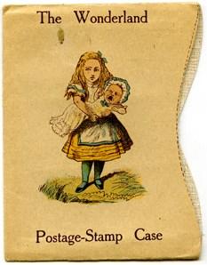 Cover of Lewis Carroll's Wonderland postage stamp case