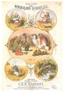 Cover of 'the Wonderland Quadrilles'