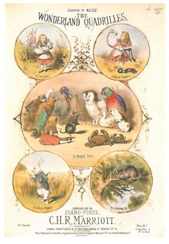 Cover of 'the Wonderland Quadrilles'